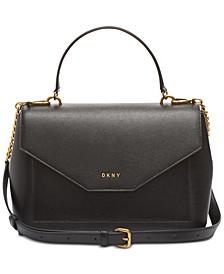 Alexa Leather Top Handle Satchel, Created for Macy's