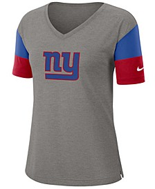 Women's New York Giants Tri-Fan T-Shirt