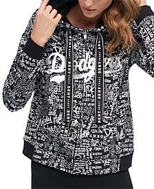 DKNY Women's Los Angeles Dodgers Urban Hoodie