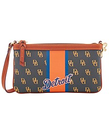 Detroit Tigers Large Slim Stadium Wristlet