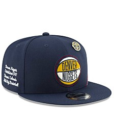 New Era Big Boys Denver Nuggets 2019 On-Court Collection 9FIFTY Snapback Cap