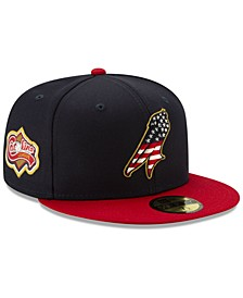 Myrtle Beach Pelicans Stars and Stripes 59FIFTY Cap