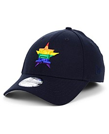 Houston Astros Pride 39THIRTY Stretch Fitted Cap