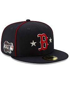 New Era Little Boys Boston Red Sox 2019 All Star Game Patch 59FIFTY Fitted Cap