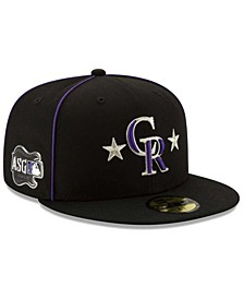 Little Boys Colorado Rockies 2019 All Star Game Patch 59FIFTY Fitted Cap