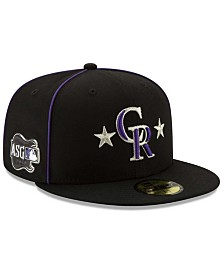 New Era Little Boys Colorado Rockies 2019 All Star Game Patch 59FIFTY Fitted Cap