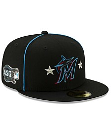 New Era Little Boys Miami Marlins 2019 All Star Game Patch 59FIFTY Fitted Cap