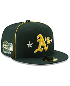 Little Boys Oakland Athletics 2019 All Star Game Patch 59FIFTY Fitted Cap