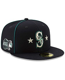 New Era Little Boys Seattle Mariners 2019 All Star Game Patch 59FIFTY Fitted Cap