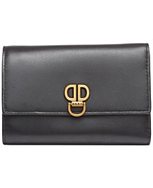 Linton Small Leather Flap Wallet, Created for Macy's