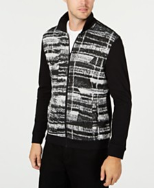 Alfani Men's Gray Matters Full-Zip Jacket, Created for Macy's