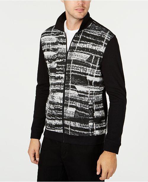 Alfani Men's Gray Matters Full-Zip Jacket, Created for Macy's