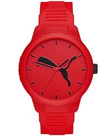 Men's Reset Polyurethane Strap Watch 44mm