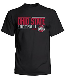 J America Men's Big & Tall Ohio State Buckeyes Football Sport Hit T-Shirt