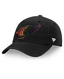 Authentic NHL Headwear Detroit Red Wings Pride Fundamental Strapback Cap