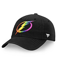 Authentic NHL Headwear Tampa Bay Lightning Pride Fundamental Strapback Cap