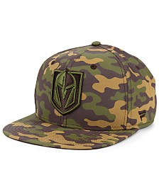 Authentic NHL Headwear Vegas Golden Knights Woodland Camo Snapback Cap