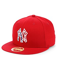 New Era New York Yankees Retro 2009 Stars and Stripes 59FIFTY Fitted Cap
