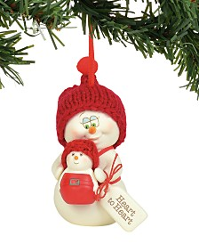 Department 56 Snowpinions Heart to Heart Ornament