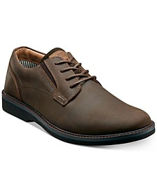 Men's Barklay Plain-Toe Lace-Up Oxfords