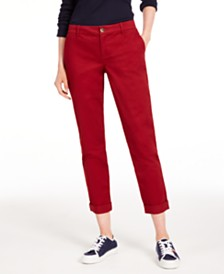 Tommy Hilfiger Hampton Chino Pants, Created for Macy's