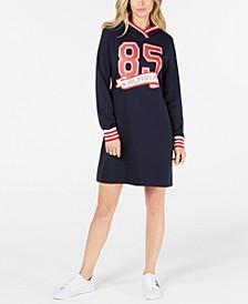 85 Hoodie Sweatshirt Dress