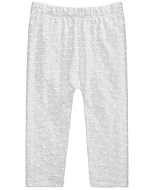 Baby Girls Cotton Dot Jogger Pants, Created for Macy's
