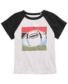 Toddler Boys Football-Print T-Shirt, Created for Macy's