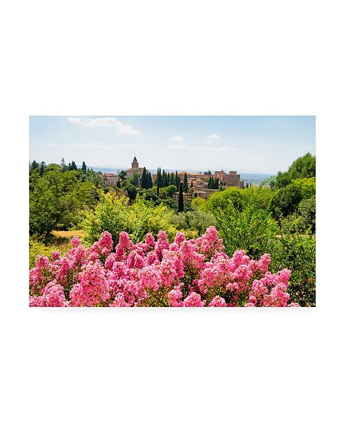 "Trademark Global Philippe Hugonnard Made in Spain Summer scent at Alhambra Canvas Art - 15.5"" x 21"""