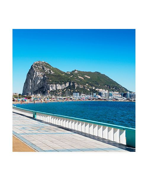 "Trademark Global Philippe Hugonnard Made in Spain 3 Gibraltar Canvas Art - 19.5"" x 26"""