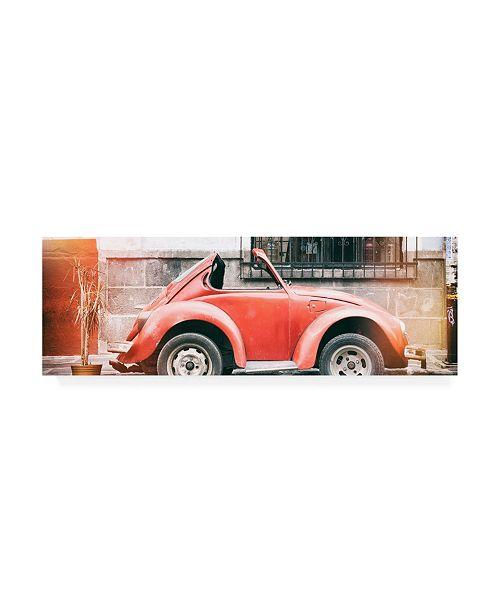 "Trademark Global Philippe Hugonnard Viva Mexico 2 Small VW Beetle Car II Canvas Art - 19.5"" x 26"""