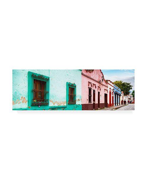 "Trademark Global Philippe Hugonnard Viva Mexico 2 Street Scene San Cristobal de Las Casas Canvas Art - 15.5"" x 21"""