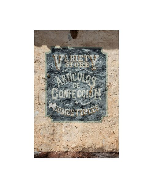 """Trademark Global Philippe Hugonnard Made in Spain Wild West Sign VI Canvas Art - 27"""" x 33.5"""""""