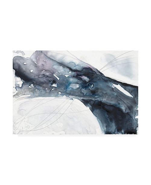 "Trademark Global Jennifer Goldberger Agate Wave II Canvas Art - 27"" x 33.5"""