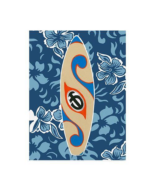 "Trademark Global Ethan Harper Endless Summer V Childrens Art Canvas Art - 36.5"" x 48"""