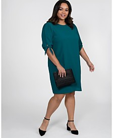 Kiyonna Women's Plus Size Manhattan Shift Dress