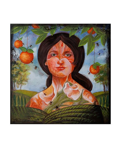 "Trademark Global Darlene McElroy Sweet and Juicy Canvas Art - 19.5"" x 26"""