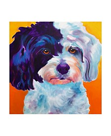 "DawgArt Teddy Bear Dog Canvas Art - 36.5"" x 48"""