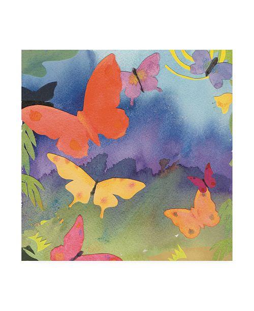 "Trademark Global Whiskers Studio Natures Beauty Watercolor Canvas Art - 19.5"" x 26"""