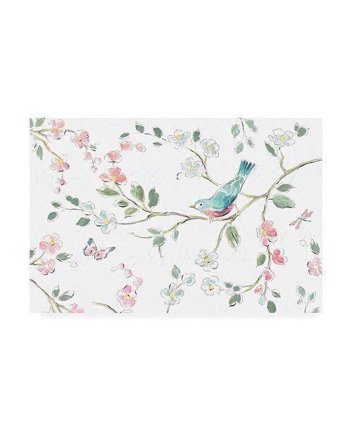 "Trademark Global Daphne Brissonnet Springtime I Canvas Art - 27"" x 33.5"""