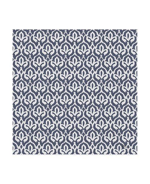 "Trademark Global Pela Studio Bazaar Patchwork Pattern VC Canvas Art - 15.5"" x 21"""
