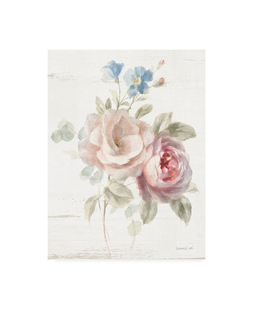 "Trademark Global Danhui Nai Cottage Garden IV Canvas Art - 19.5"" x 26"""