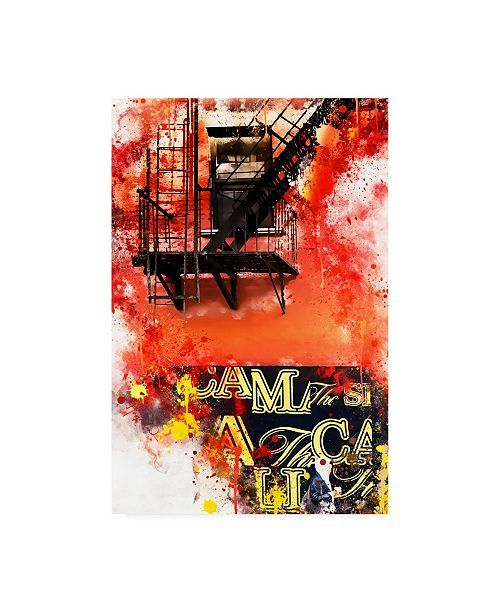 """Trademark Global Philippe Hugonnard NYC Watercolor Collection - of Passage Canvas Art - 27"""" x 33.5"""""""