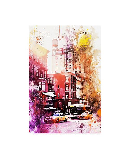 """Trademark Global Philippe Hugonnard NYC Watercolor Collection - New York Architecture Canvas Art - 15.5"""" x 21"""""""