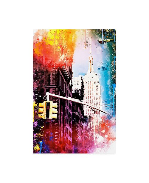 """Trademark Global Philippe Hugonnard NYC Watercolor Collection - Empire Canvas Art - 19.5"""" x 26"""""""