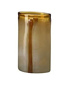 Large Vase - Honey Brow