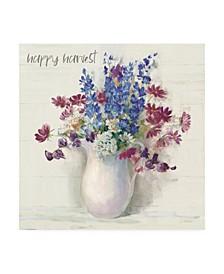"Carol Rowan Harvest Ironstone Bouquet II Canvas Art - 15.5"" x 21"""