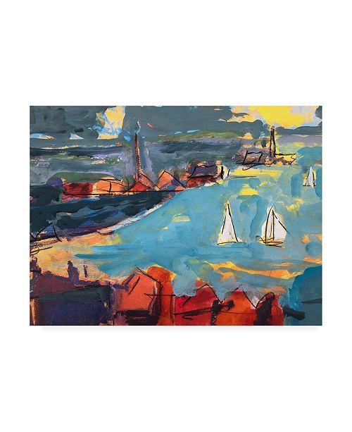 "Trademark Global Per Ander Homeward Bound Canvas Art - 27"" x 33.5"""
