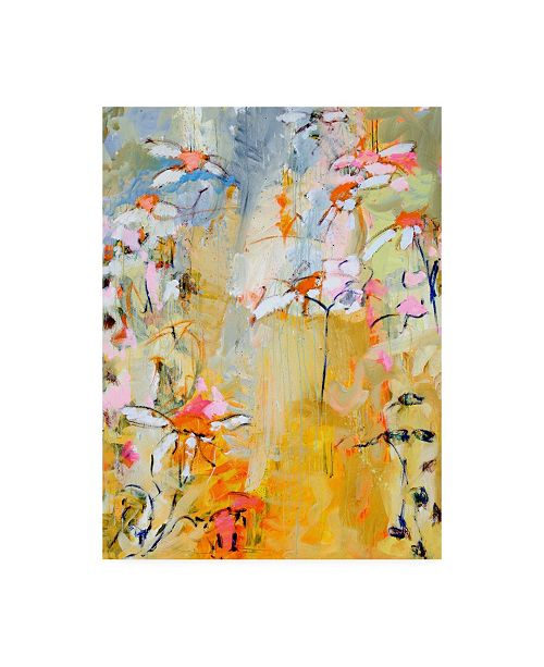 """Trademark Global Per Ander Waiting for Summer Canvas Art - 15.5"""" x 21"""""""
