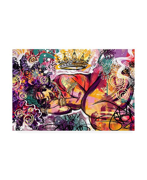 "Trademark Global Justin Copelan Radiance Crown Canvas Art - 15.5"" x 21"""